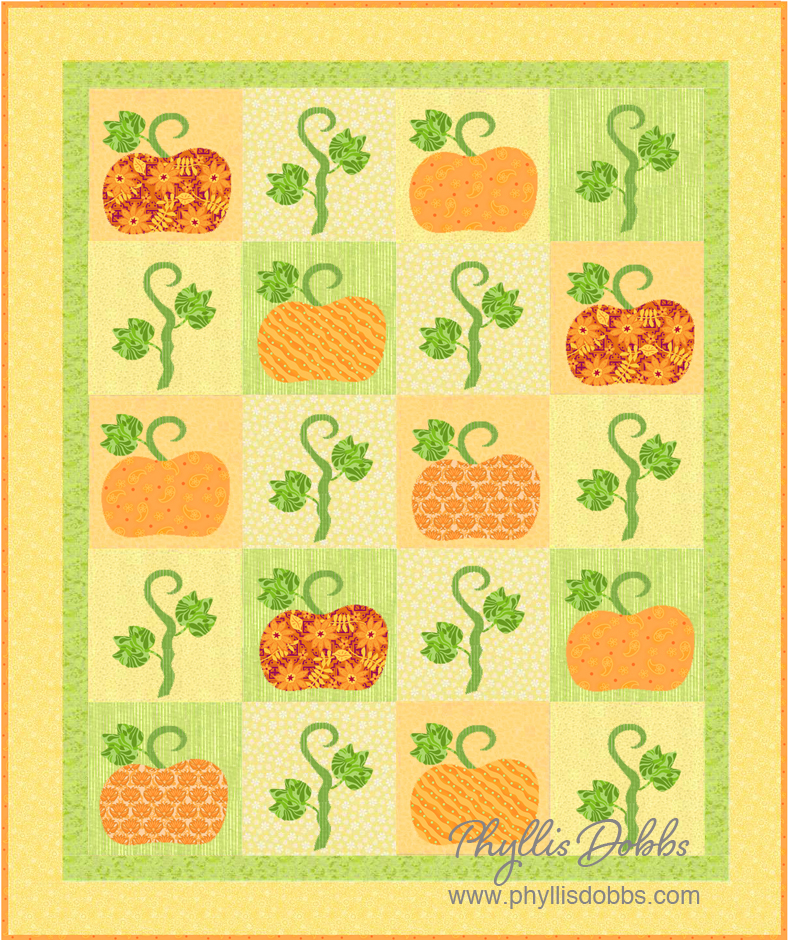 Pumpkin Time Quilt Pattern