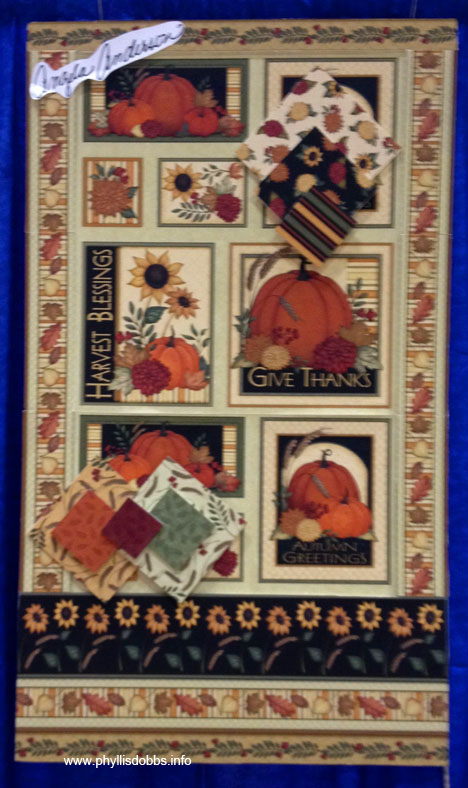 Give thanks fabric by Angela Anderson for Quilting Treasures