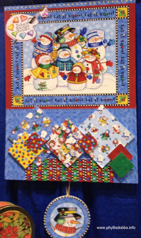 Debra Jordan Bryan new Christmas fabrics for Quilting Treasures