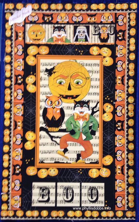 J Wecker Frisch Halloween fabrics for Quilting Treasures