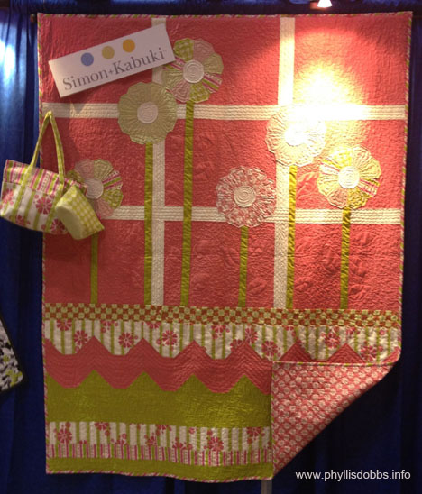 Simon Kabuki fabric line In the Meadow at Quilt Market