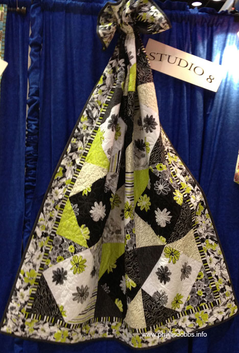Studio 8 fabric by Quilting Treasures at Quilt Market