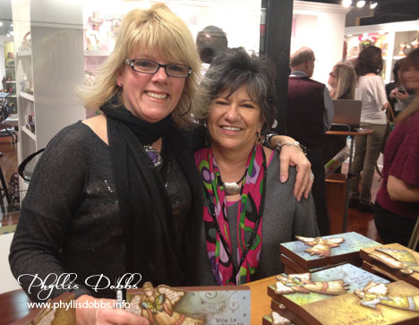Robin Davis and Phyllis Dobbs at Atlanta Gift Market
