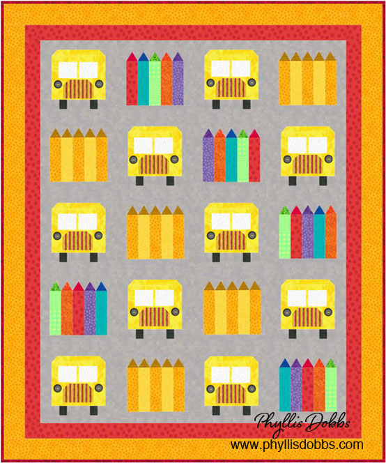 School Days Quilt Pattern