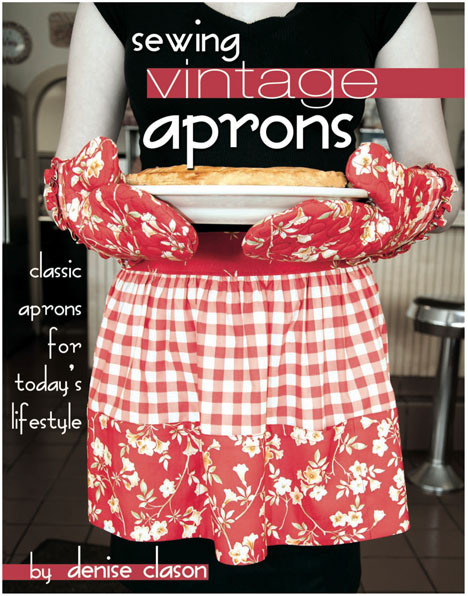 Book Sewing Vintage Aprons