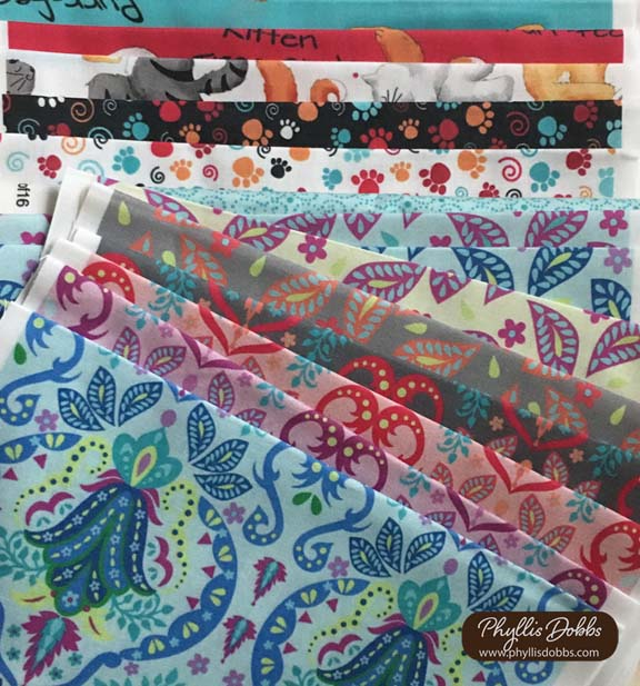 Spoonflower fabrics PhyllisDobbs