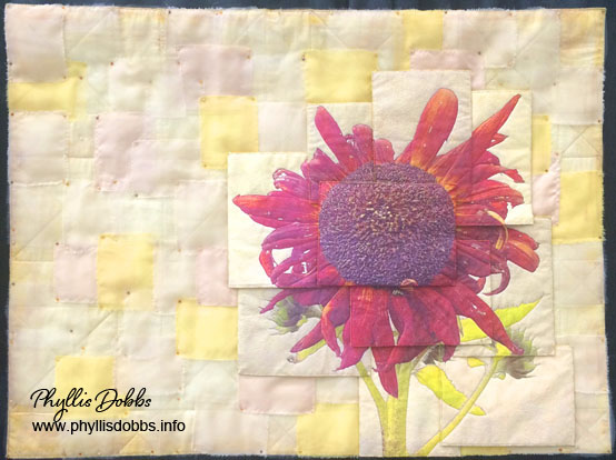 Sunflower Pilgrimage quilt