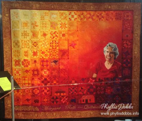 The quiltmaker Jennifer Bowker