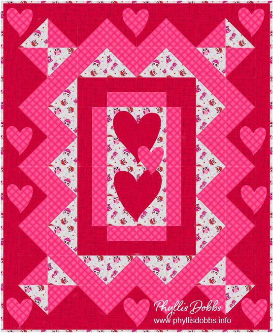 Valentine Love Quilt Pattern