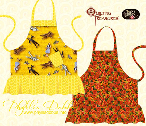 Wizard of Oz Free Apron Pattern