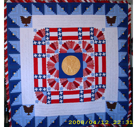 Abe Lincoln quilt