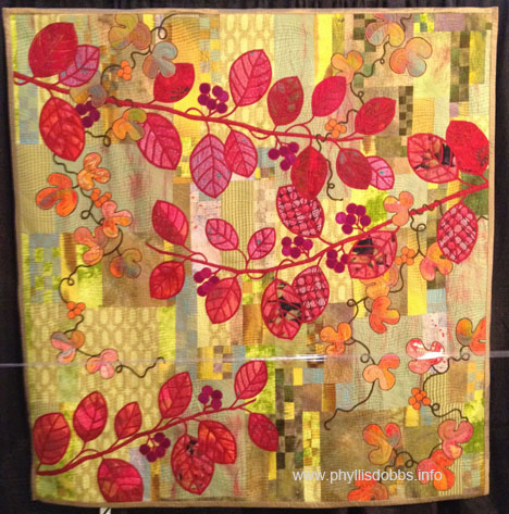 An Autumn Breeze quilt at Houston Quilt Market