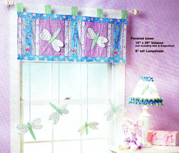 Dragonfly Valance in Today\'s Creative Home Arts