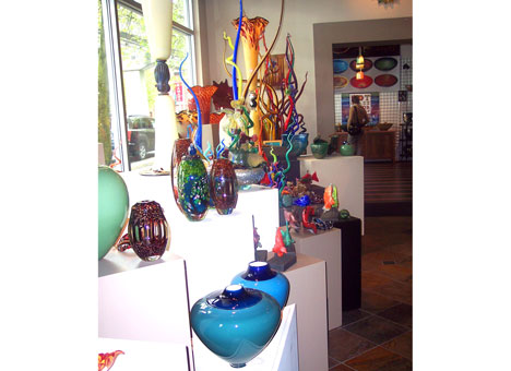 Seattle Glassblowing Studio shop