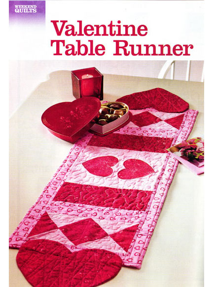 year can  you patterns This runner table for for valentine is that project Valentine's plan next  a quilted