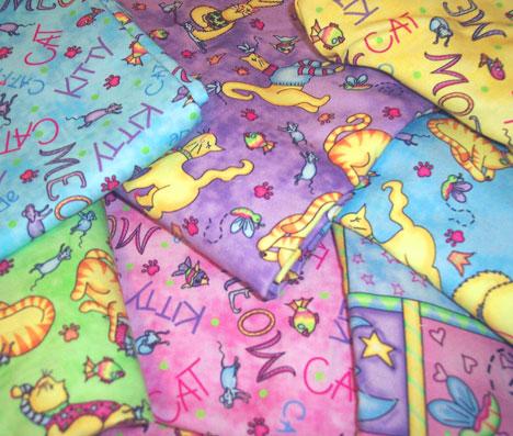 Meow Meow Fabrics