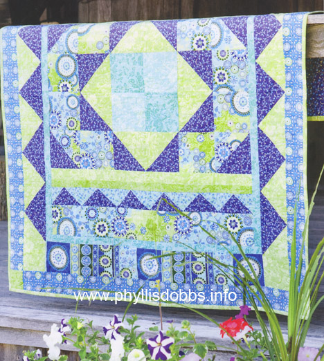 Quilt like the gypsy wind phyllis dobbs blog for Patchwork quilt book