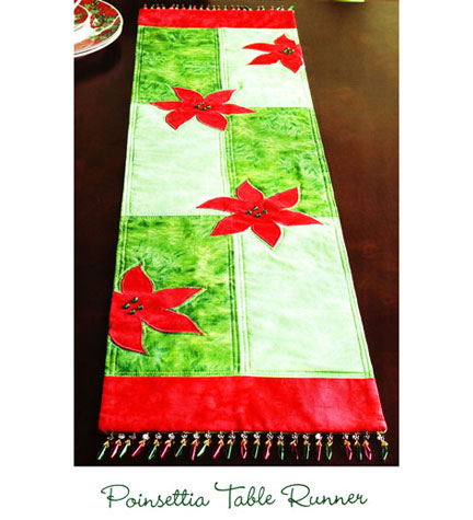 Quilt Patterns for the table - table runners, tablecloth
