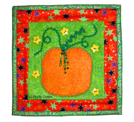 Mini Pumpkin Quilt