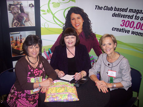 Phyllis Dobbs, Julie Stephani and Carol Zentgraf